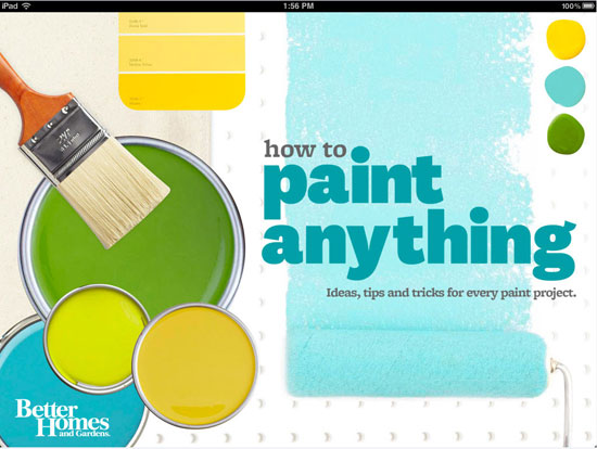 How to Paint Anything App: Patterns