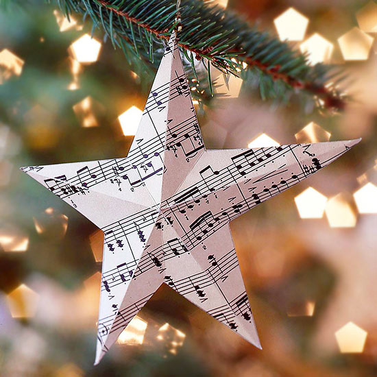 Music Themed Christmas Ornaments.34 Easy Christmas Ornaments To Make Now