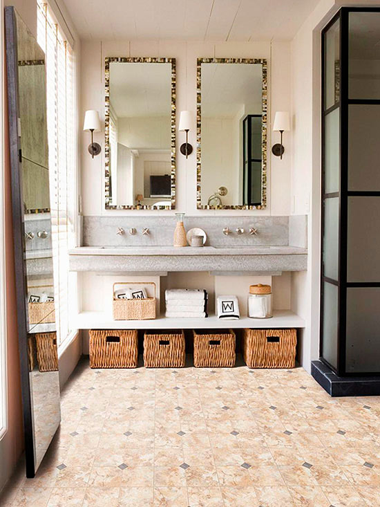 Bathroom Flooring Ideas Better Homes Gardens