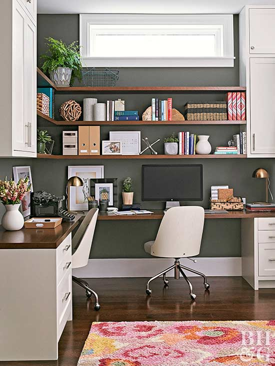 Home Office Design Decorating Ideas: Our Best Home Office Decorating Ideas