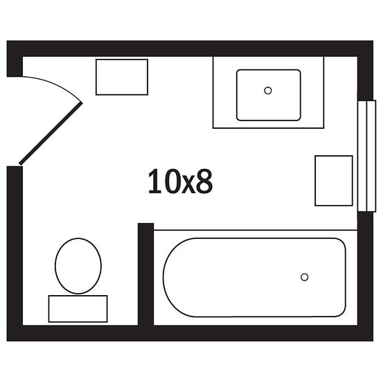 Planning A Bathroom Layout