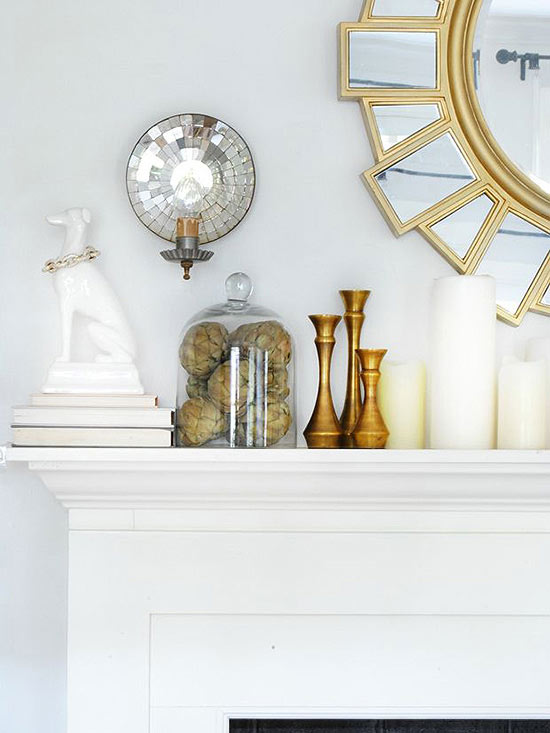 Welcome Metallics into Your Fall Decor