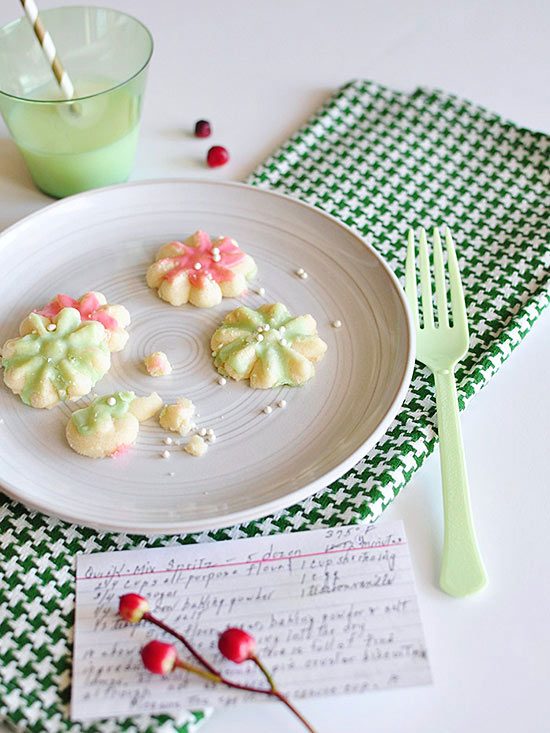 Christmas Traditions cookies