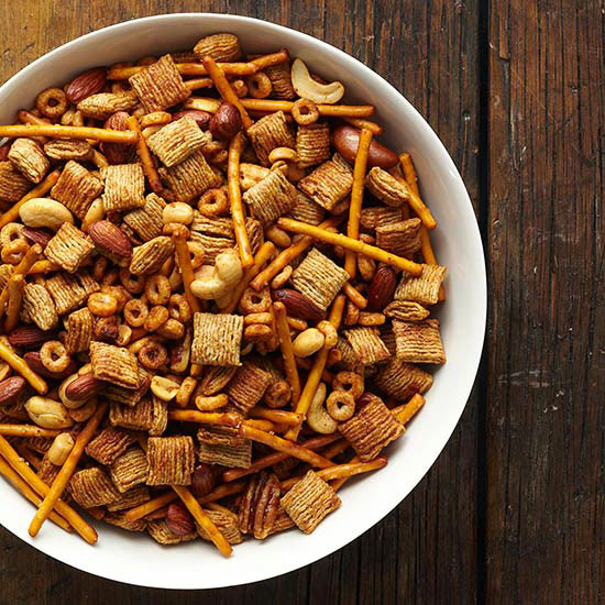 Make-It-Mine Slow Cooker Party Mix