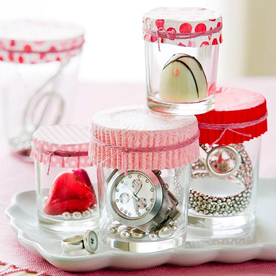 Valentine's Day Display Jars
