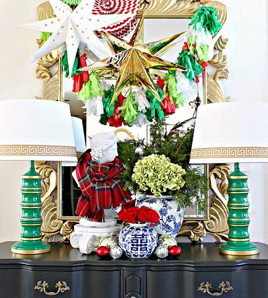 Christmas Red and Green decor