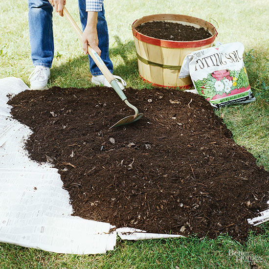 How Can I Add Compost to an Established Garden?