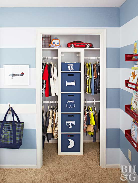 Organize Your Child's Closet With These KidFriendly Ideas Custom Small Bedroom Closet Organization Ideas Concept Remodelling