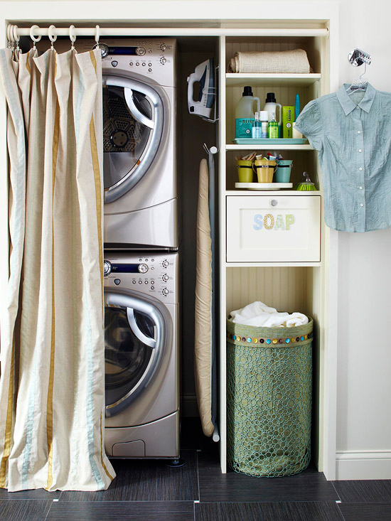 A Solution With Style Laundry Room