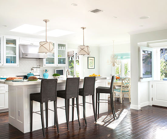 Aisles On Each Side Of The Island Should Be At Least 42 Inches Wide, With 48  Inch Widths Preferred When Two Cooks Will Be Working Simultaneously, ...