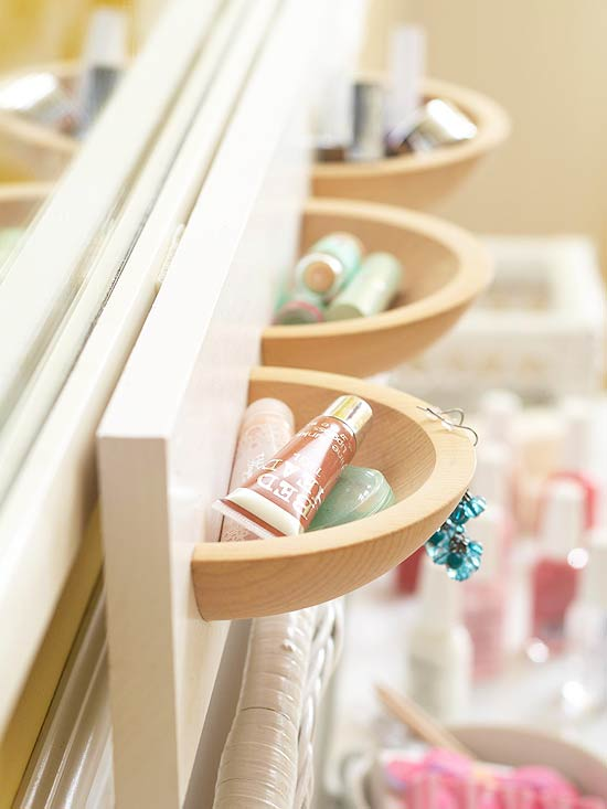 Drawer-pull cubbies