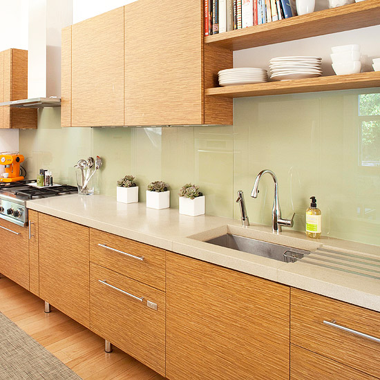 Natural Drama. Glass backsplash kitchen cabinetry : kitchen counters and backsplash - hauntedcathouse.org