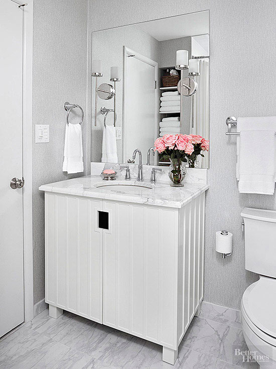 white bathroom design ideas white bathroom design ideas better homes gardens 9838
