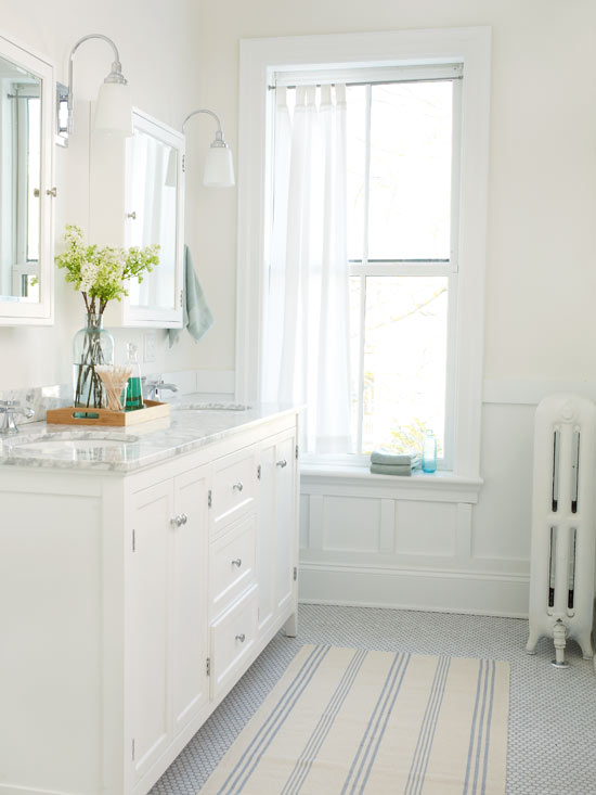white bathroom design ideas white bathroom design ideas better homes gardens 4166