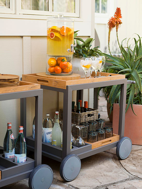 Create Bar-Cart Zones