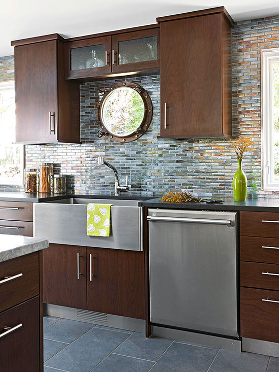 Glass Tile Backsplash Pictures