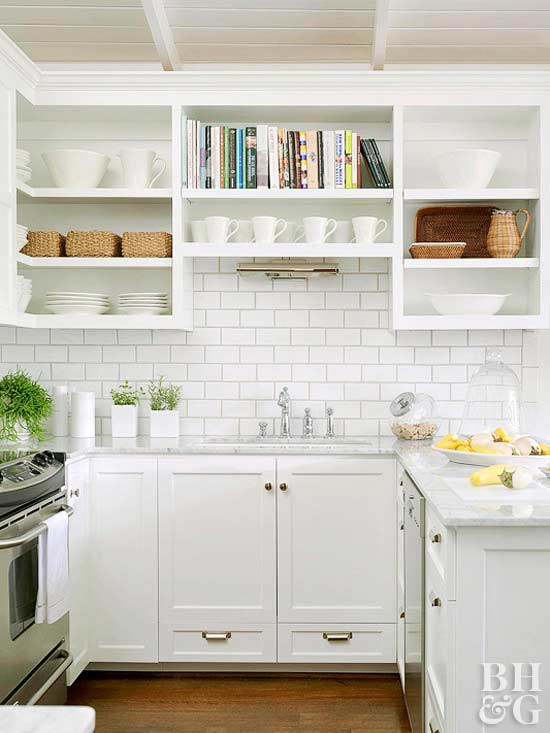 Clic Subway Tile Backsplash