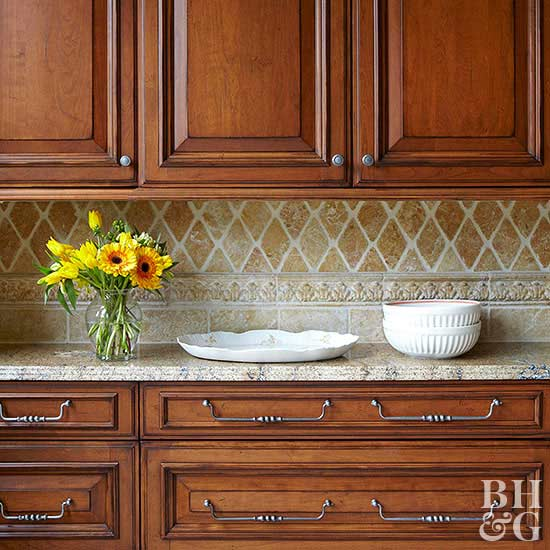 Kitchen Design Brown: Kitchen Backsplash Ideas