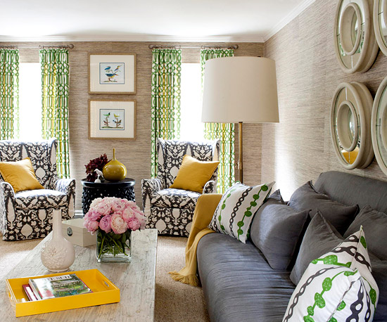 Living Room Color Scheme: City Casual