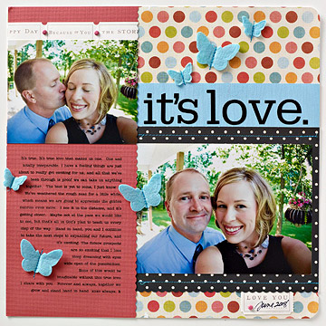 Scrapbook Layouts for Grown-Ups