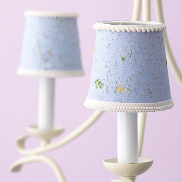 Paper covered lampshades