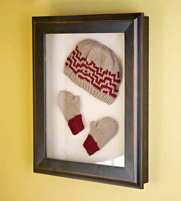 Mittens on Display