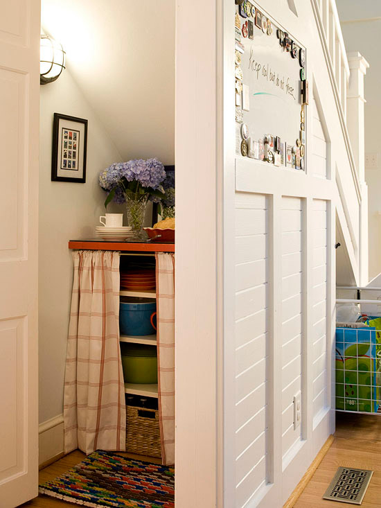 Superbe Storage Space Under The Stairs