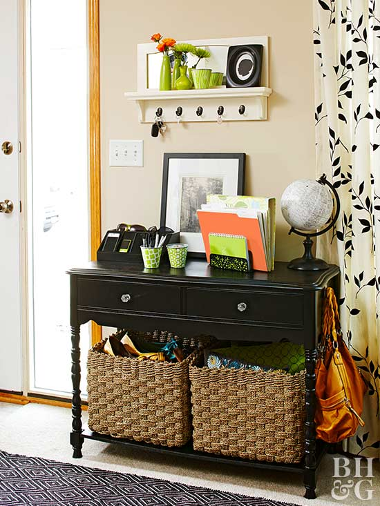 Add Storage to Your Entry
