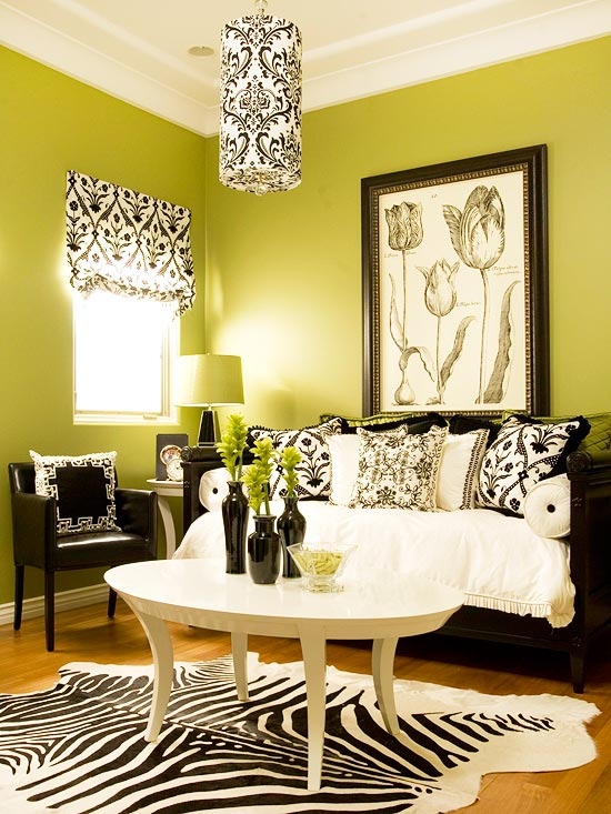 Green Living Room Decorating Ideas | Better Homes & Gardens