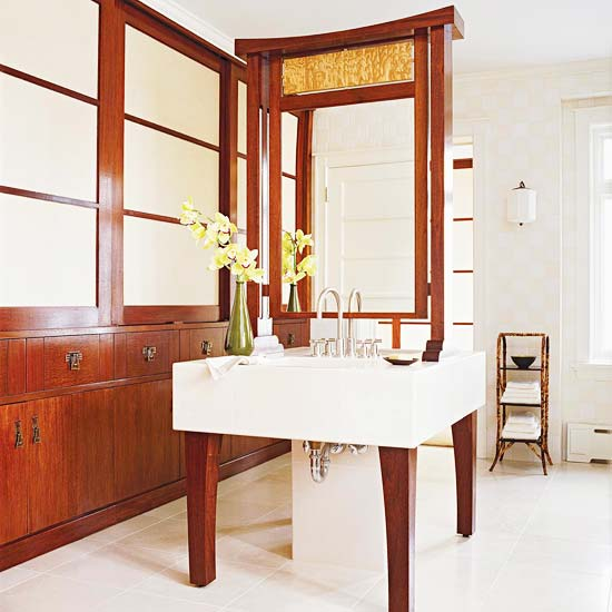 Asian Style Cabinetry