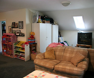 A Colorful Playroom Makeover