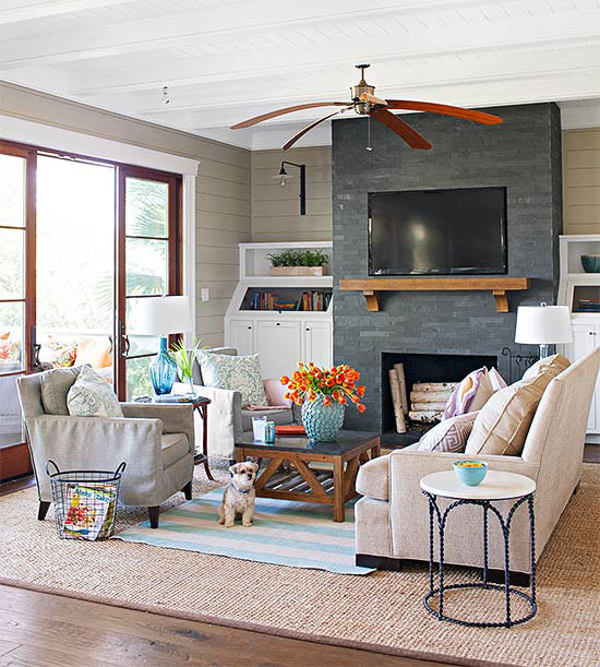 Small Living Room Ideas With Fireplace Home Design Ideas