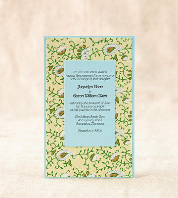 Easy To Make Wedding Invitations