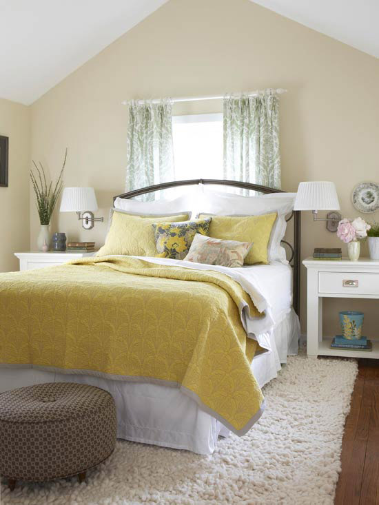 Decorating Ideas For Yellow Bedrooms Better Homes Amp Gardens