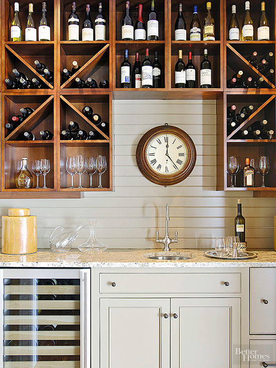 Well-Stocked Wet Bar