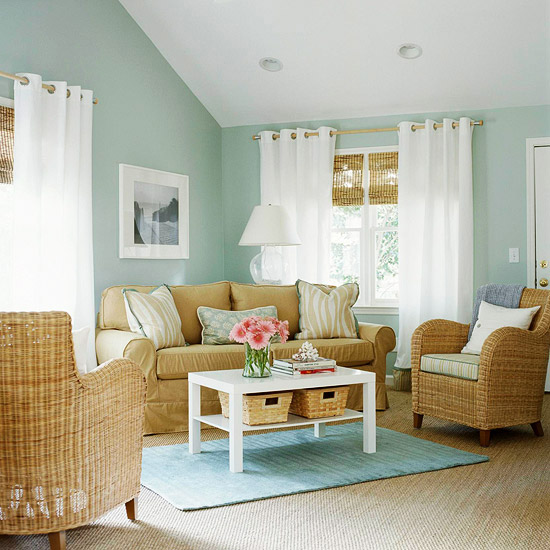 Go Subtle For Serenity Elegant Wall Color
