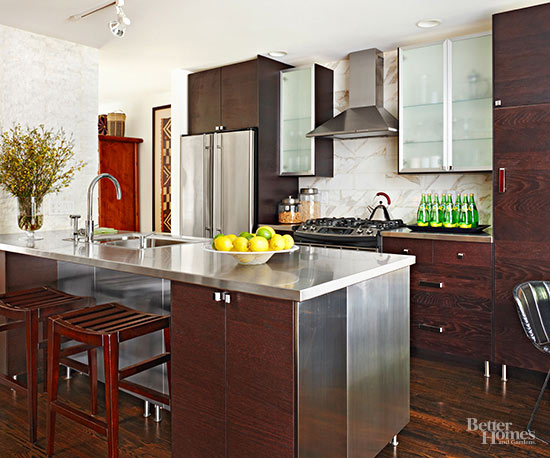 Kitchen Cabinet Wood Choices Better Homes Amp Gardens