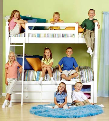 Room to Share: The McCaughey Kids' Rooms