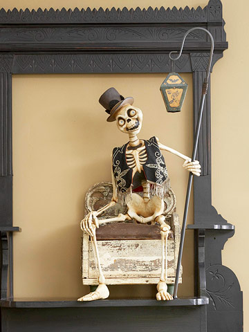 Skeleton in Frame