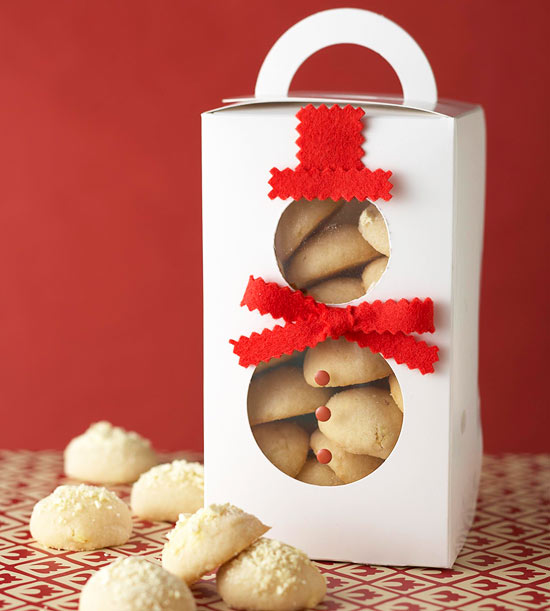 Snowman Box for Cookies