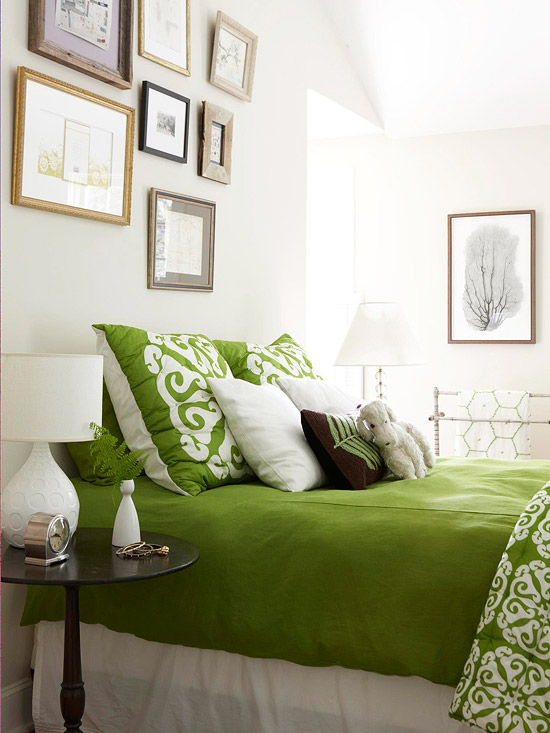 Decorating In Green Better Homes Amp Gardens