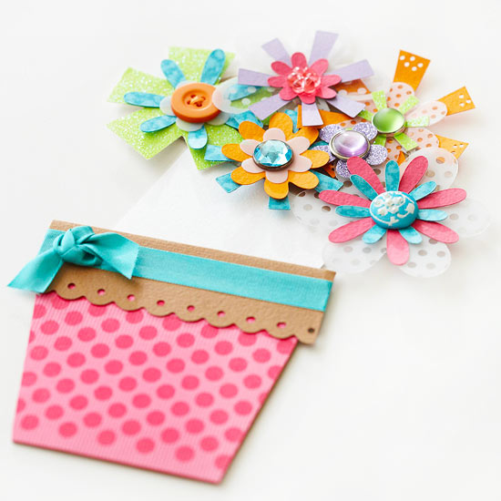 Pocket Full Of Posies Birthday Card