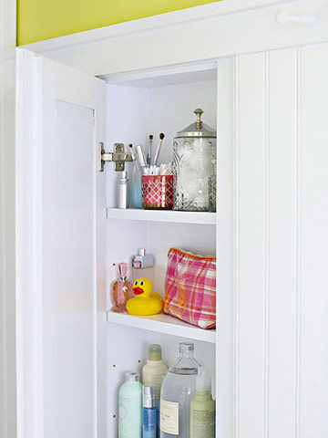 Makeover 1: Storage Solutions