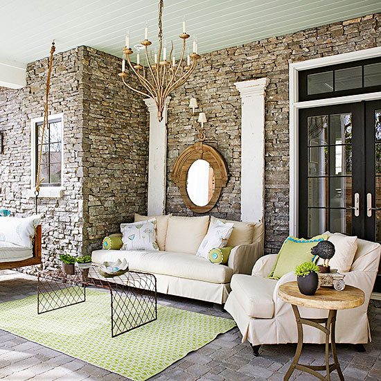 Bring Indoor Touches Outside
