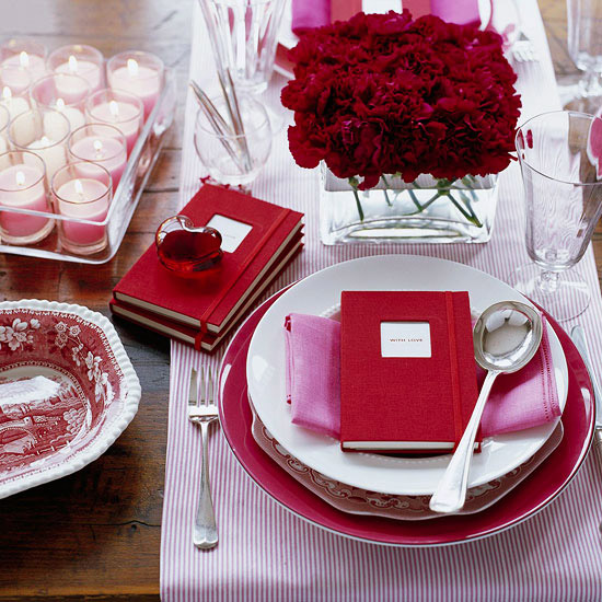 Memory Keeper Valentine's Day Table Setting
