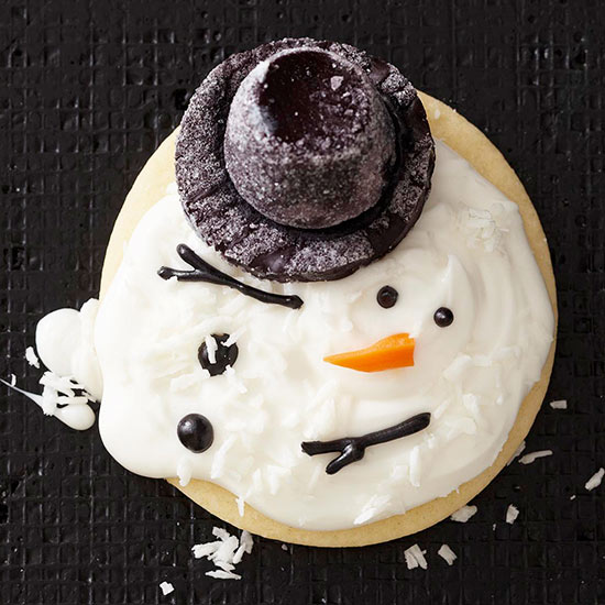 Melting Snowman Cookies And Treats Better Homes Gardens