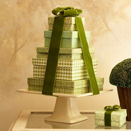 Gifts on a Pedestal