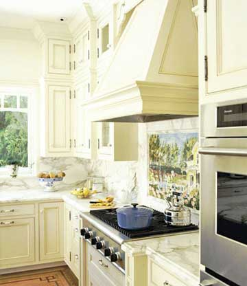 Cabinet Cover for Kitchen Exhaust Hood