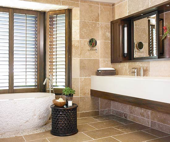 Nature-Inspired Bathrooms