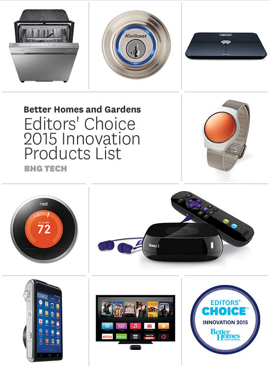 Better Homes & Gardens Editors' Choice 2015 Innovation Products List